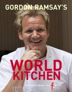 Gordon lager mat fra hele verden i Wordl Kitchen. Fås kjøpt på engelske nettbokhandlere for en ganske rimelig penge. Anbefales!