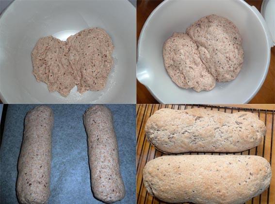 Fra deigklump til ferdig brød.